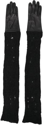 Yohji Yamamoto Long Gloves