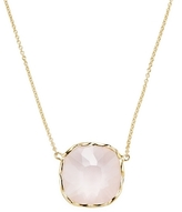 Roberto Coin 18K Yellow Gold Ipanema Pink Quartz Pendant