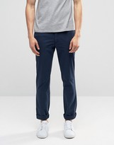 Polo Ralph Lauren Stretch Slim Fit Trousers In Navy