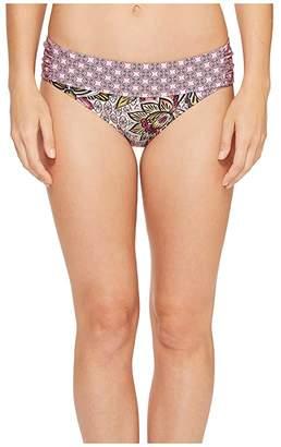 Prana Sirra Bottoms (Cosmo Pink Fleur D'amour) Women's Swimwear
