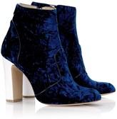 Bionda Castana Blue Velvet Amelie Boots