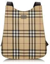 Burberry Pre-owned: Plaid Backpack.