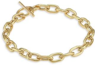 Zoë Chicco 14K Yellow Gold & Pave Diamond Chain Link Bracelet