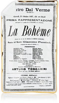 Fornasetti Locandina La Bohème Porcelain Tray