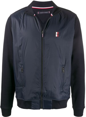 Tommy Hilfiger Funnel-Neck Logo Jacket