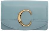 Chloé Blue C Card Holder