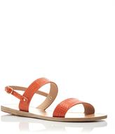 Ancient Greek Sandals Clio Printed Croc Double Strap Sandals