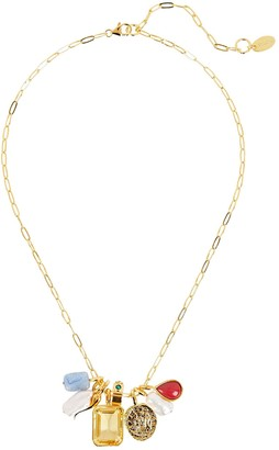 Lizzie Fortunato First Light Chain Pendant Necklace