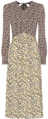 Rebecca Vallance Ellie floral crepe midi dress