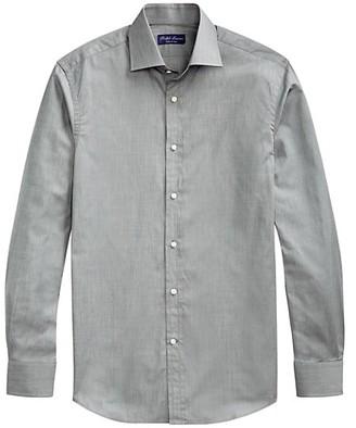 Ralph Lauren Purple Label Aston Button-Front Dress Shirt