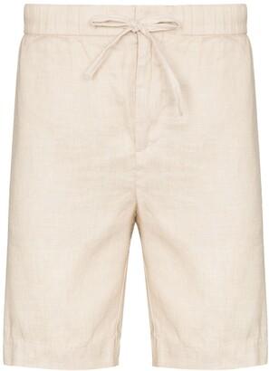 Frescobol Carioca Drawstring-Waist Knee-Length Shorts