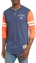 Mitchell & Ness Men's Home Stretch - Detroit Tigers Henley