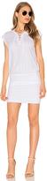 Velvet by Graham & Spencer Karmen Lace Up Mini Dress
