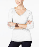 INC International Concepts Petite Slub Top, Only at Macy's