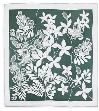 Loro Piana Romantiques Floral Cashmere & Silk Scarf