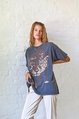 Wrangler Leopard Oversized Tee