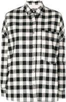 Hache checked shirt - women - Cotton/Acrylic/Polyamide/Viscose - 38