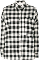 Hache checked shirt