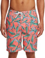 Trunks Swami Tropical Print Board Shorts