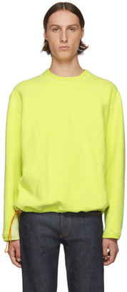 Goodfight Yellow Sling Sweatshirt