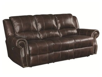 Canora Grey Algona Leather Reclining Sofa