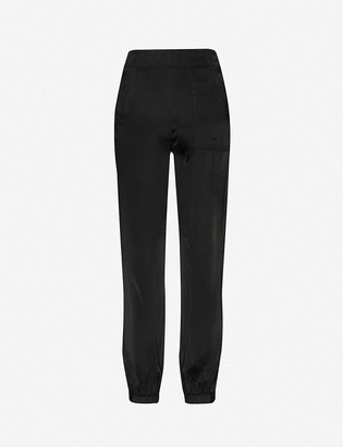 3.1 Phillip Lim High-rise satin jogging bottoms