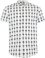 Scotch & Soda Mini Design Poplin Shirt