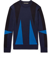 Neil Barrett - Intarsia Merino Wool Sweater