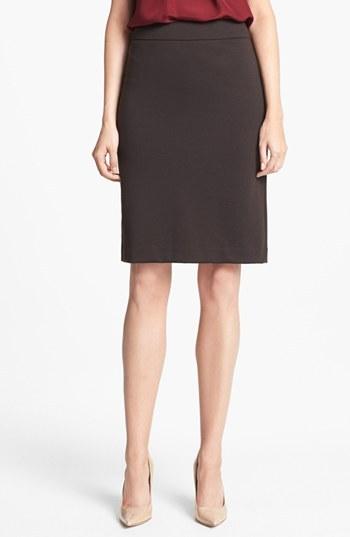 Jones New York 'Lucy' Ponte Knit Pencil Skirt