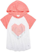 Xersion Hooded Raglan Graphic T-Shirt - Girls 7-16 and Plus