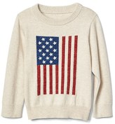 Gap Stars and stripes crew sweater