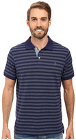U.S. Polo Assn. Jacquard Bengal Striped Polo Shirt