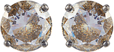 Bottega Veneta Cubic-zirconia and silver earrings