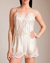 83 Lace Silk Charmeuse Teddy