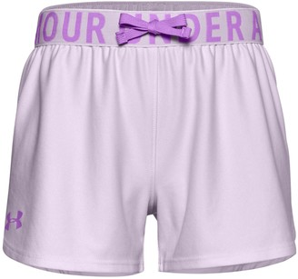Under Armour Girls 7-16 Play Up Solid Shorts