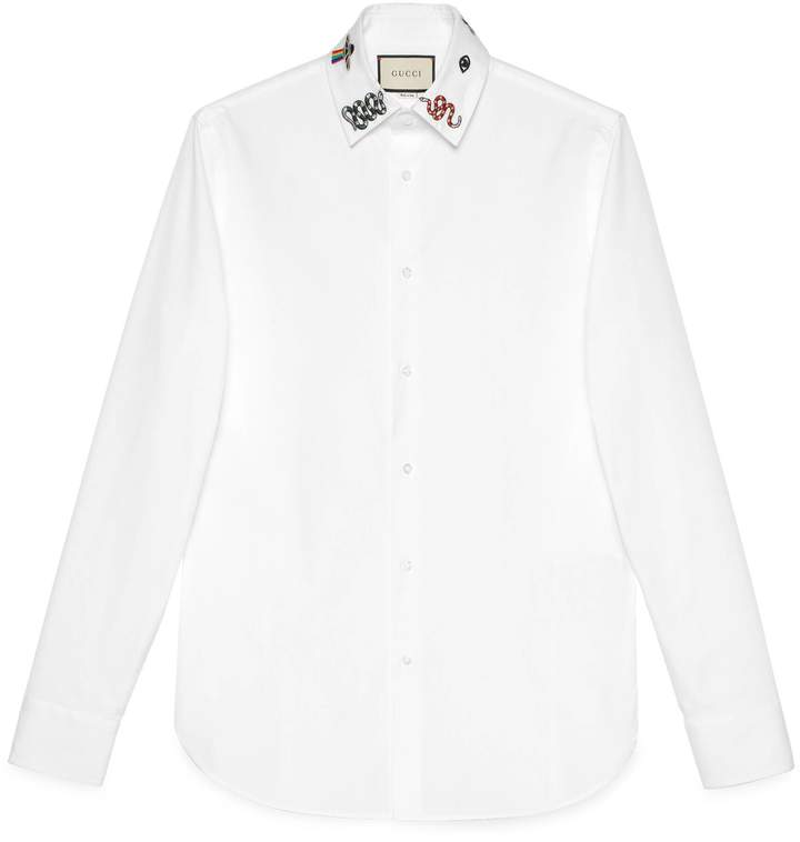 47a2312c5 Gucci Men's Dress Shirts - ShopStyle