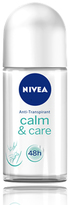 Nivea Calm and Care Deodorant Roll-On by 50ml Roll-On)