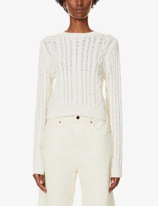 Reformation Dauphine organic-cotton jumper