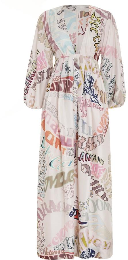Zimmermann Ladybeetle Word Midi Dress