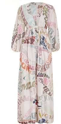 Zimmermann Ladybeetle Word Midi Dress