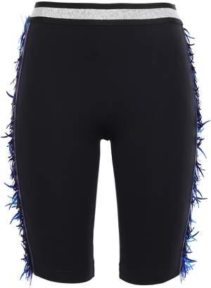 NO KA 'OI Embellished Stretch-knit Shorts