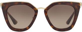 Prada cat-eye frame sunglasses