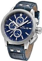 TW Steel 'CEO Adesso' Quartz Stainless Steel Casual Watch, Color:Blue (Model: CE7007)