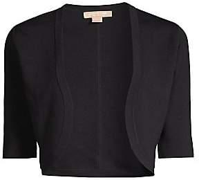 Michael Kors Women's Merino Wool Cropped Shrug