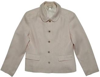 Courreges Pink Wool Jacket for Women Vintage