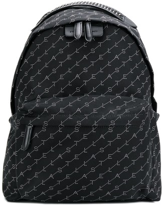 Stella McCartney Monogram Logo Backpack