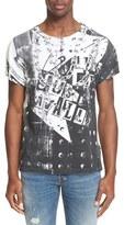 Just Cavalli 'Chain' Graphic T-Shirt