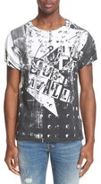 Just Cavalli Men's 'Chain' Graphic T-Shirt