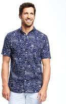 Old Navy Slim-Fit Classic Poplin Shirt For Men