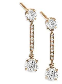 164ef2668 Anita Ko Pink Fine Earrings - ShopStyle